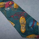 Giovanni Valentino Novelty Silk Tie Necktie Shoes Shopping C128 ~