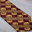 Wembley Santavelli Vintage Fat Polyester Tie Necktie C139 ~
