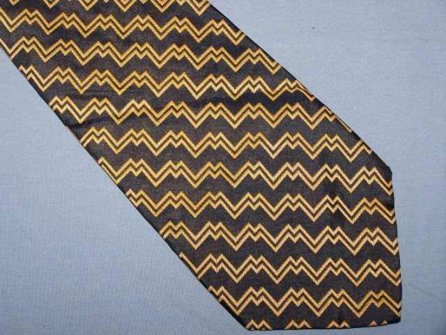 Polo University Ralph Lauren Blue Gold Silk Tie Necktie C143 ~