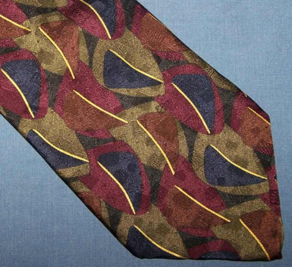 Cellini Uomo Dark Artsy Tie Necktie C103 ~