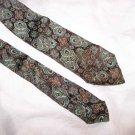 """Vintage Resilio Byzantine Art Tie Necktie 2 1/2"""" C49 ~"""