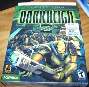 Dark Reign 2 Vintage PC Game in Box