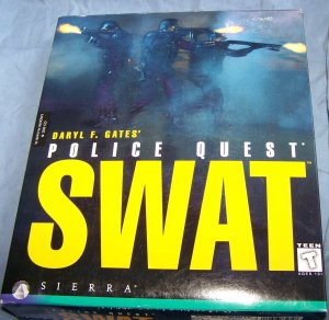 Police Quest SWAT Vintage PC Game in Box CD's