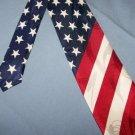 American Flag Stars Stripes Necktie T66