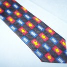 The Studio Samuel Broome Navy Diamond Tie Necktie  T60