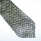 Blue and Green Dollar Sign Silk Tie Necktie