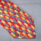 Paul Fredrick Bright Silk Tie Necktie