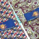 Lot of 2 Magic Eye Hidden Message Ties Neckties  W109