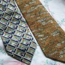 Lot of 2 Fearon Alton Ties Neckties  W111