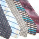Lot of 5 Geoffrey Beene Ties Neckties W114