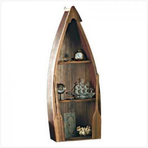 #31182 Rowboat Curio Shelves