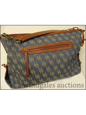 Genuine Dooney & Burke (D&B) Medium Satchel