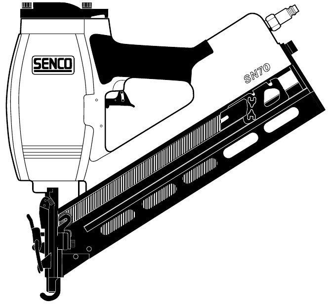 Senco Sn70 O Ring Lb3500 Rebuild Kit