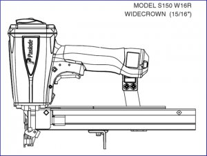 Paslode S150-W16R Stapler O ring Kit + 402725 cylinder seal