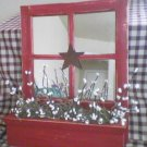 Red Mirror with Country Berries