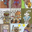 ACEO ONE OF A KIND CUSTOM COLOR COMISSION YOUR CHOICE SKETCH CARD