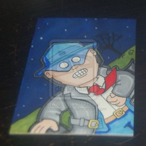 The Spirit sketch card atc aceo