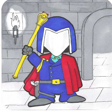 G.I. Joe Cobra Commander sketch card
