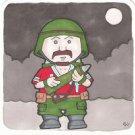 G.I. Joe Bazooka sketch card Square Card
