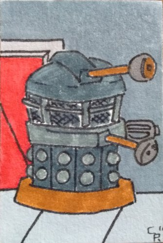 Dalek Mini Art
