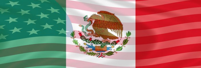 MEXICAN AMERICAN FLAG MERGED