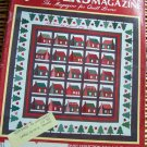 Quilter's Newsletter Nov-Dec 1987 Thanksgiving, Christmas, Miniature quilts -patterns, techniques