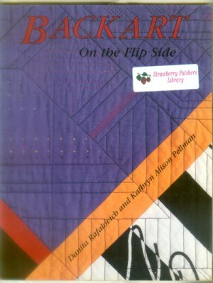 Backart, On the Flip Side by Danita Rafalovich and Kathryn Alison Pellman 1991 -Paperback