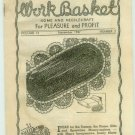 Workbasket November 1947 Knit crochet Tatting Projects