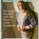 Workbasket January 1990 Southwest Themes: Needlework, Crafts, Foods, Gardening