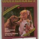 Workbasket December 1985 Christmas: Needlework, Sewing, Quilting, Foods, Gardening