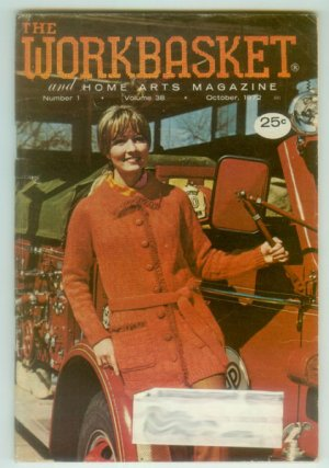 Workbasket October 1972 Needlework, Crafts, Foods, Gardening