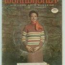 Workbasket August 1975 Knit, Crochet, Tatting, Sewing, Crafts, Foods, Gardening