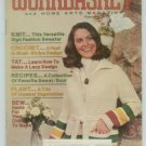 Workbasket February 1977 Knit, Crochet, Tatting, Sewing, Crafts, Foods, Gardening