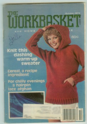 Workbasket October 1979 Needlework, Sewing, Crafts, Foods, Gardening