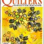 Quilters Newsletter Magazine April 2002 Baskets, Maltese Star, Chimneys and Cornerstones, Lilies