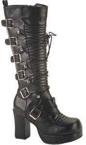 Gothika Womens Knee High Boots
