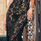 2 Piece Spanish Lace Long Dress Set -Plus Size