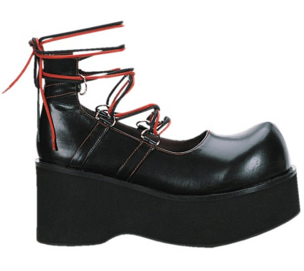 Dank Womens Lace Up platform Shoes