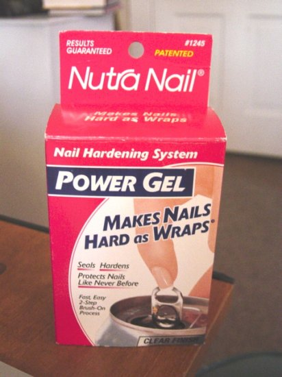 Nutra Nail Power Gel Nail Hardening System #900043