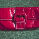 Woman's Payless Red Clutch Handbag at The Clothes Horse #900238