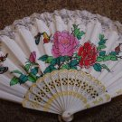 Folding Hand Fan Linen Chinese Classical Scent Fan Asian Oriental #900252