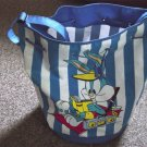 Warner Bros. Looney Tunes Bugs Bunny Large Blue and White Vinyl Tote Beach Bag #900255