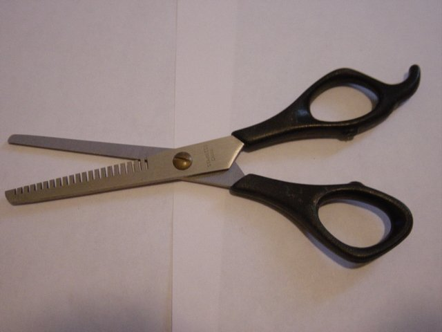 "6 1/2"" Stainless Steel Hair Thinning Barber Scissors  #900360"