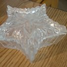 Handcrafted Crystal Star Shaped Vanity Trinket Box Made in Romania #900519