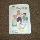 Simplicity 7468 Misses' Easy-To-Sew Set of Pullover Tops 10 Piece Pattern Sizes 18-20  #900537
