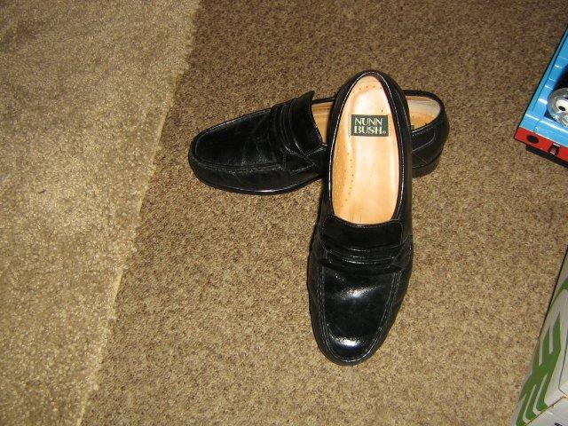 Nunn Bush Black Men's Slipon Dress Shoes Size 8M #900577