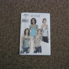 Vogue V8251 Tops in Four Styles Halter Tops Size 4-8 #900590