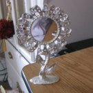 Silver Tone Torino Sunflower Earring Holder Center Mirror  900629