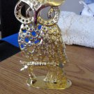 Tornio Gold Tone Owl Metal Earring Holder  900683