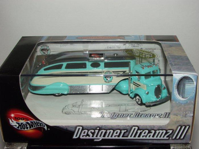 Hot Wheels 100% Collectibles Designer Dreamz III Collectors 2 Car Set 1/64 Scale